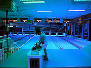 Vietnam, Hanoi: bowling hall.