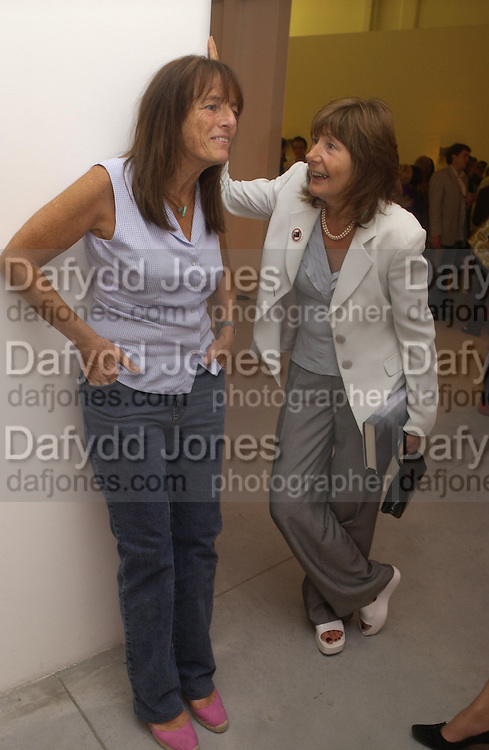 Ruth Rogers and Melissa Chassay. Party to celebrate the publication of Shalimar the Clown by Salman Rushdie. David Gill Gallery, 3 Loghborough St. London SE11 ONE TIME USE ONLY - DO NOT ARCHIVE  © Copyright Photograph by Dafydd Jones 66 Stockwell Park Rd. London SW9 0DA Tel 020 7733 0108 www.dafjones.com