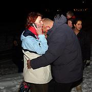 Kind vermist Gooimeer Huizen, kind gevonden, blijdschap ouders.vreugde, verdriet, tranen, sneeuw, kou, vader moeder