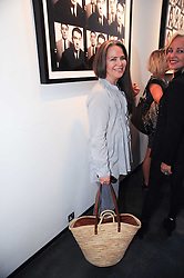 KOO STARK at a private view of photographs by David Bailey entitled 'Then' held at Hamiltons, 13 Carlos Place, London W1 on 6th July 2010.