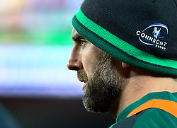Connacht's John Muldoon<br /> <br /> Photographer Simon King/Replay Images<br /> <br /> Guinness PRO14 Round 19 - Ospreys v Connacht - Friday 6th April 2018 - Liberty Stadium - Swansea<br /> <br /> World Copyright © Replay Images . All rights reserved. info@replayimages.co.uk - http://replayimages.co.uk