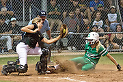 Cuero's Regan Dunn scores the Lady Gobblers second run during game 1  of the 4A best of 3 Regional Semifinals against Rockport-Fulton at Victoria's Youth Sports Complex on Friday. Photo: © Jaime R.Carrero/jcarrero@vicad.com