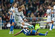 Takedown to Modric