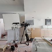 An empty set is seen during a production day for the HGTV show, Brother vs Brother, Wednesday, February 15, 2017 in Galveston, Texas. Season five of the show which features The Property Brothers, Jonathan and Drew Scott, airs later this year.<br /> <br /> Todd Spoth for The New York Times.