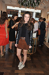 AMBA JACKSON daughter of Jade Jagger at the Frocks and Rocks party hosted by Alice Temperley and Jade Jagger at Temperley, Bruton Street, London on 25th April 2013.