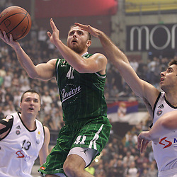 20150110: SRB, Basketball - ABA League 2014/15, KK Partizan Beograd vs KK Union Olimpija Ljubljana