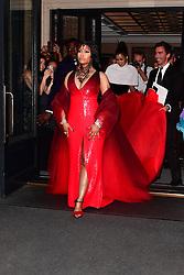 Nicki Minaj on the way to the Met Gala 2018. 07 May 2018 Pictured: Nicki Minaj on the way to the Met Gala 2018. Photo credit: Sahara / MEGA TheMegaAgency.com +1 888 505 6342