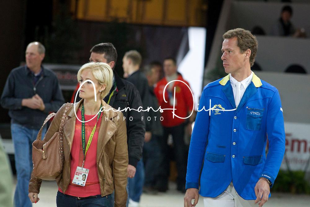 Ahlmann Christian (GER) - Melchior Judy Ann (BEL)<br /> Rolex FEI World Cup ™ Jumping Final <br /> 'S Hertogenbosch 2012<br /> © Dirk Caremans