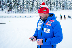 Tomas?Kos during Slovenian National Cup in Biathlon, on December 30, 2017 in Rudno polje, Pokljuka, Slovenia. Photo by Ziga Zupan / Sportida