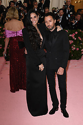 Designer Anthony Vacarello and Demi Moore attend The 2019 Met Gala Celebrating Camp: Notes on Fashion at Metropolitan Museum of Art on May 06, 2019 in New York City.<br /> Photo by ABACAPRESS.COM