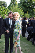 FIONA SHAKLETON, The Serpentine Summer Party 2013 hosted by Julia Peyton-Jones and L'Wren Scott.  Pavion designed by Japanese architect Sou Fujimoto. Serpentine Gallery. 26 June 2013. ,