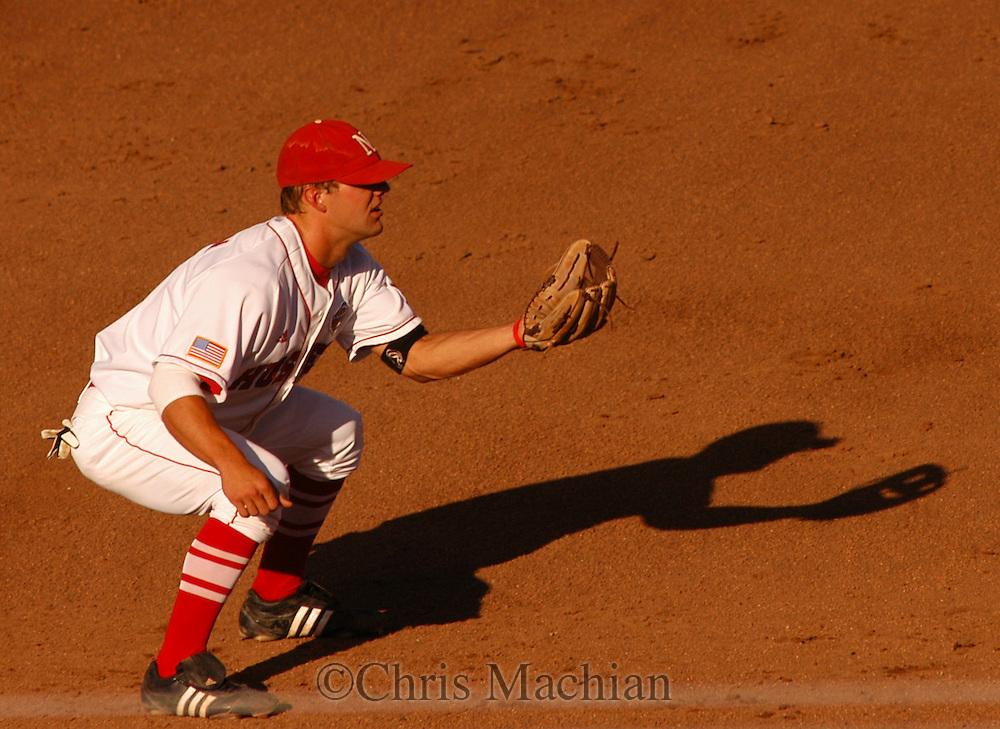 6/17/05 Omaha, NE Nebraska's Alex Gordon at the College World Series at Rosenblatt Stadium..(Chris Machian/Prairie Pixel Group)