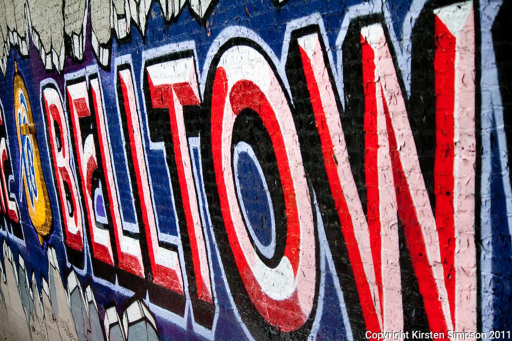 Belltown streetscaps in Seattle