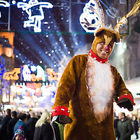 Awesome Christmas events in town this year.  Lights, snow and magic.