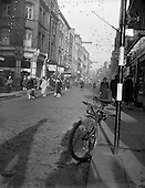 1960 - Views of quiet streets owing to parking restrictions in Dublin