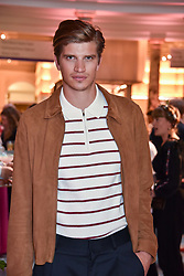 "Toby Huntington-Whiteley at the opening of ""Frida Kahlo: Making Her Self Up"" Exhibition at the V&A Museum, London England. 13 June 2018."