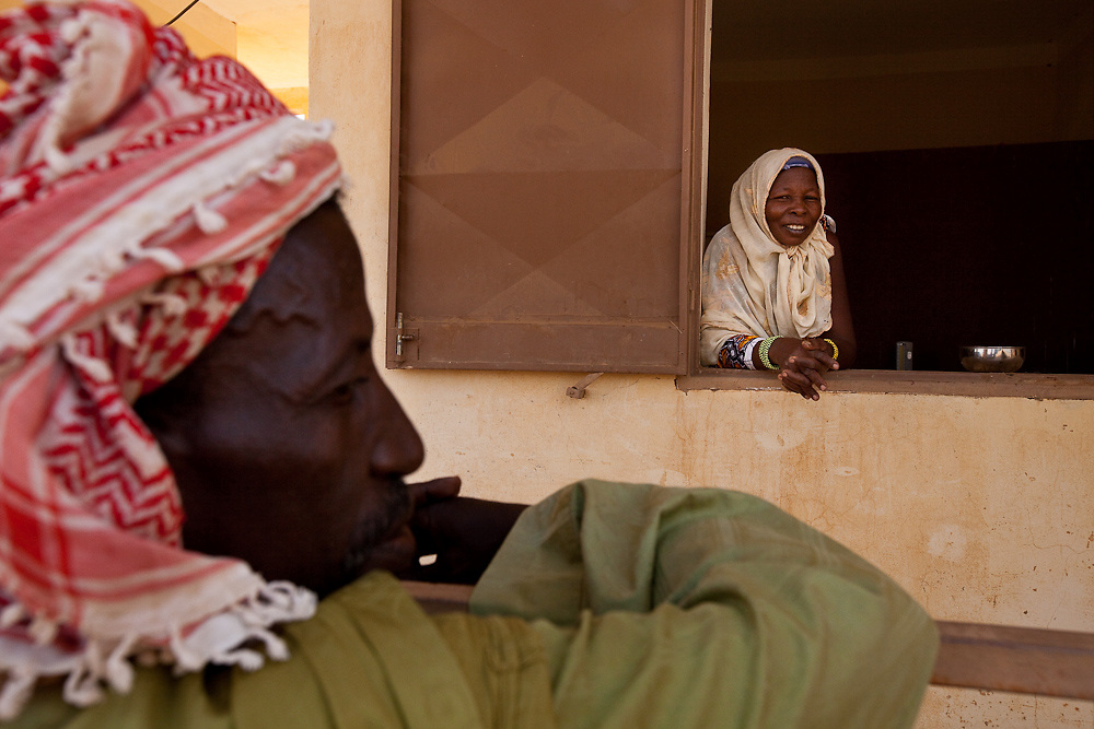 CSCOM near Gao in Mali. (Midwife treats women while nurse deals with general complaints)
