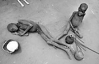 The famine in Karamoja, North-East Uganda in 1980. Photographed by Terry Fincher