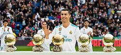 Cristiano Ronaldo dos Santos Aveiro of Real Madrid during the La Liga Santander match between Real Madrid CF and Sevilla FC on December 09, 2017 at the Santiago Bernabeu stadium in Madrid, Spain.
