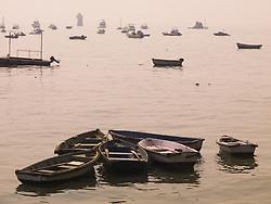 July 21, 2019 - Fishing Boats At Dawn (Credit Image: © Keith Levit/Design Pics via ZUMA Wire)