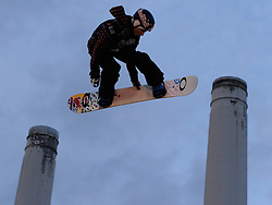 29.10.2011, Battersea Power Station, London GBR, FIS Snowboard Worldcup, Relentless Freeze Festival, im Bild 4th placed Jamie Nicholls of GBR// during FIS Snowboard Worldcup at Relentless Freeze Festival in London, United Kingdom on 29/10/2011. EXPA Pictures © 2011, PhotoCredit: EXPA/ TNT Sports/ Nick Tapsell +++++ ATTENTION - OUT OF ENGLAND/GBR +++++