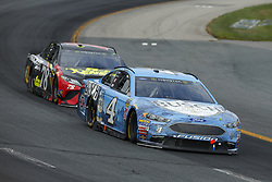 July 22, 2018 - Loudon, New Hampshire, United States of America - Kevin Harvick (4) brings his car through the turns during the Foxwoods Resort Casino 301 at New Hampshire Motor Speedway in Loudon, New Hampshire. (Credit Image: © Chris Owens Asp Inc/ASP via ZUMA Wire)