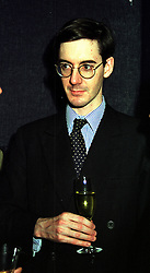 The HON.JACOB REES-MOGG son of Lord Rees-Mogg, at a party in London on 17th January 2000.OAD 18