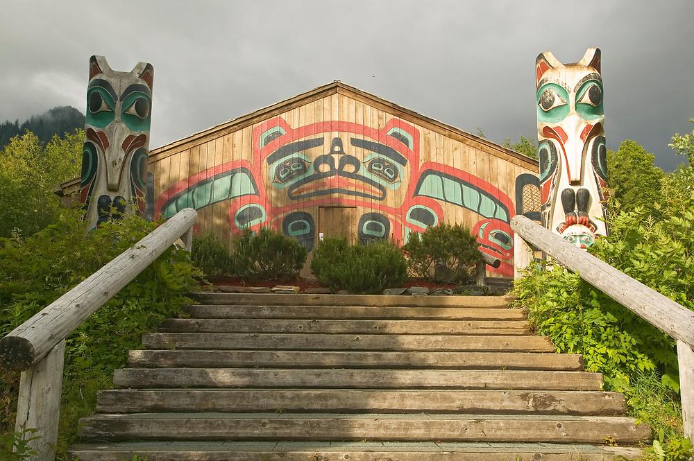 USA, Alaska, Inside Passage, Ketchikan, Saxman Totem Park
