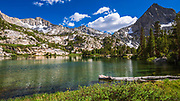 Treasure Lake, John Muir Wilderness, Sierra Nevada Mountains, California USA