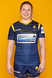 Lydia Thompson of Worcester Warriors Women- Mandatory by-line: Robbie Stephenson/JMP - 27/10/2020 - RUGBY - Sixways Stadium - Worcester, England - Worcester Warriors Women Headshots