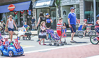 Norwood MA 2017 Kid's 4th of July parade