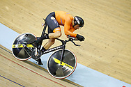 Men 1 km time trial Matthijs Buchli (Netherlands) during the Track Cycling European Championships Glasgow 2018, at Sir Chris Hoy Velodrome, in Glasgow, Great Britain, Day 3, on August 4, 2018 - Photo Luca Bettini / BettiniPhoto / ProSportsImages / DPPI