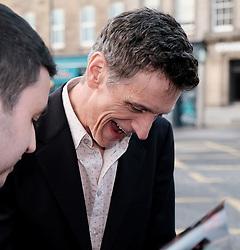 Edinburgh International Film Festival 2019<br /> <br /> End Of Sentence (World Premiere)<br /> <br /> Pictured: Actor John Hawkes arrives for the premiere and signs autographs<br /> <br /> Aimee Todd   Edinburgh Elite media