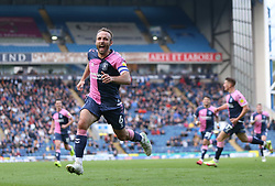 Coventry City's Liam Kelly celebrates scoring his sides second goal during the Sky Bet Championship match at Ewood Park, Blackburn. Picture date: Saturday October 16, 2021.