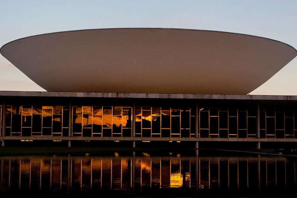 Brasilia_DF, Brasil...Palacio do Planalto, sede do Poder Executivo, localizado na Praça dos Tres Poderes, em Brasília, capital da Republica, Distrito Federal. ..The Palacio do Planalto (Palace of the Highlands), headquarters of the Executive Branch of the Brazilian Government, located at the Praca dos Tres Poderes, in Brasília, Distrito Federal, Brazil...Foto: MARCUS DESIMONI / NITRO