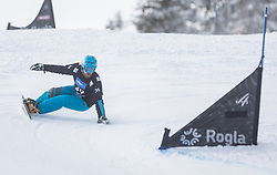 Hafner Jure during the FIS snowboarding world cup race in Rogla (SI / SLO) | GS on January 20, 2018, in Jasna Ski slope, Rogla, Slovenia. Photo by Urban Meglic / Sportida
