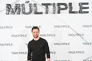 011217 'Split' Photocall In Madrid