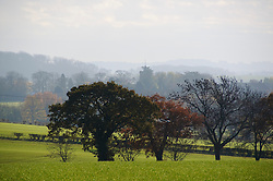 A beautiful late autumn landscape near Stagsden Bedfordshire England UK. Some parts of southern England enjoyed mild sunny weather over the weekend, though it is expected to be colder next week, Sunday, 1st December 2013. Picture by Jonathan Mitchell / i-Images