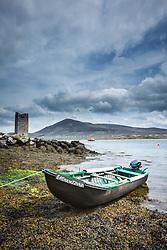 Kildownet Castle, Achill Island, County Mayo, Ireland