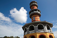 Ho Withun Thasana or Sage's Lookout is a three storey building with a spirit .staircase leading to the top floor hall. When residing in Bang Pa-In Palace, King Rama V used this hall as  to get the bird's eye view of the surrounding countryside.