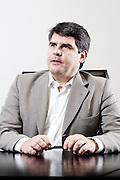 Belo Horizonte_MG, Brasil.<br /> <br /> Retrato do diretor-presidente da empresa Cenibra, Paulo Eduardo Rocha Brant.<br /> <br /> Portrait of the Cenibra president, Paulo Eduardo Rocha Brant.<br /> <br /> Foto: NIDIN SANCHES / NITRO