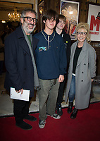David Baddiel at  the press night of the brand-new comedy Magic Goes Wrong. Vaudeville Theatre. London.,8th jan 2010