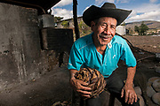 """It was at the age of 18 when Eusebio Rios first got his hands on a maguey plant and his father introduced him to the process of making mezcal, an alcohol similar to tequila in that it comes from the agave plant. Where the two drinks differ is what makes mezcal an increasingly popular artisanal drink throughout the United States. Rios, 68, of Santa Ana de Miahuatlan in the southern state of Oaxaca, dedicates countless hours to make a drink locals consume like water. . """"With this job I survive. I'm proud because it's honest work,"""" Rios said. """"It's a tradition that others have done before me, and I am carrying it on."""""""