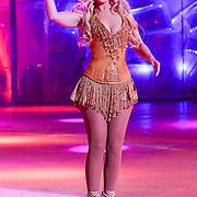 NLD/Hilversum/20130101 - 1e Liveshow Sterren dansen op het IJs 2013, Monique Sluyter