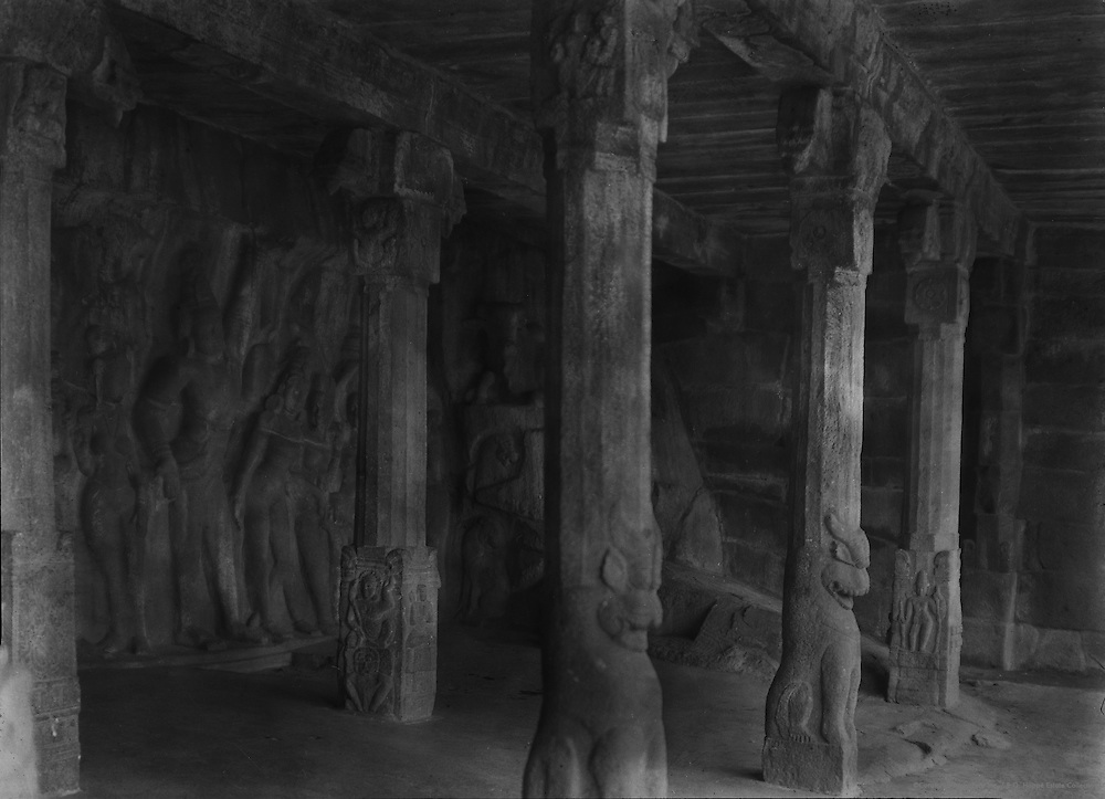 Wall Sculpture, Seven Pagodas, Mahabalipuram, India, 1929
