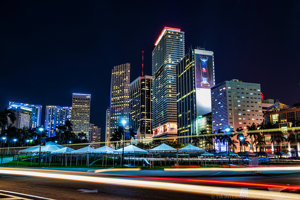 Downtown Miami @ Night