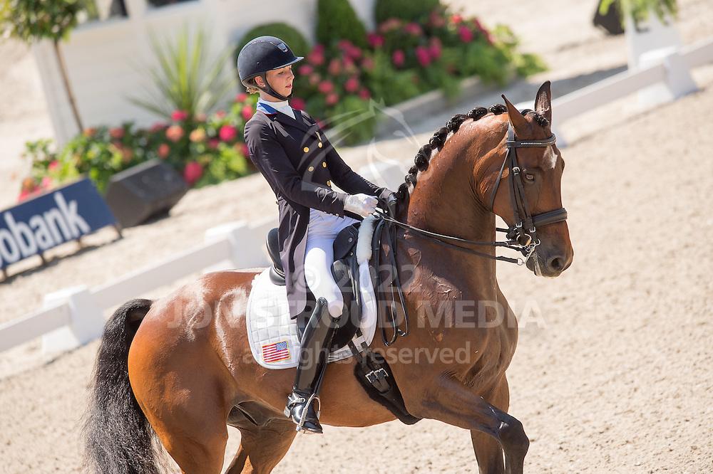 Laura Graves (USA) & Verdades - Dressage Grand Prix - CDIO5 - CHIO Rotterdam 2016 - Kralingse Bos, Rotterdam, Netherlands - 23 June 2016