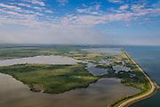 Nederland, Flevoland, Gemeente Lelystad, 27-08-2013; Oostvaardersplassen gezien naar Grote Plas en Almere-Buiten, Hoekplas in de voorgrond, Krentenplas in het middenvlak. Rechts Markermeer en Oostvaardersdijk.<br /> Bird sanctuary and nature reserve Oostvaardersplassen north-east of the city of Almere, Markermeer (lake)  right.<br /> luchtfoto (toeslag op standaard tarieven);<br /> aerial photo (additional fee required);<br /> copyright foto/photo Siebe Swart.