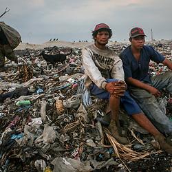 La Chureca, rubbish dump, Nicaragua
