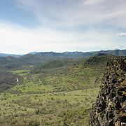 Upper Table Rock is one of two prominent volcanic plateaus located just north of the Rogue River in Jackson County, Oregon. Shaped by erosion, they now stand about 800 feet (240 m) above the surrounding Rogue Valley.